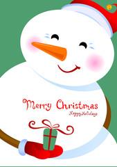 Merry Christmas greetings.