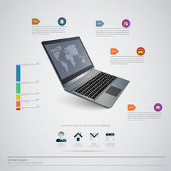High quality business infographic elements