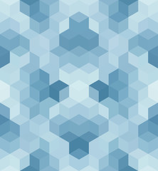 Seamless Square Abstract Background