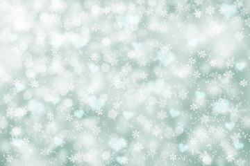 Beautiful abstract snowflake background