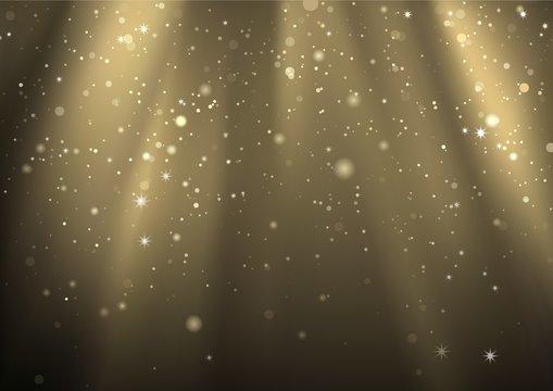 Light Rays And Light Dust