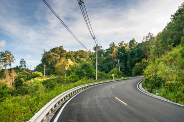 CHIANGMAI,THAILAND - November 2 :New construction roads in Chian