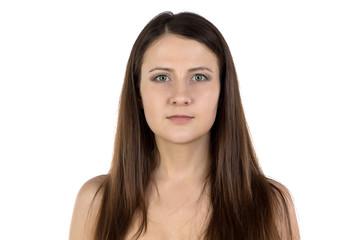 Photo of woman looking at camera
