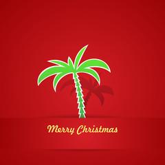 Tropical Christmas Background, EPS10