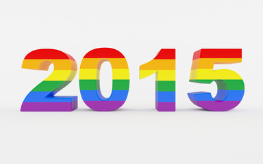 New year 2015 Pride Festival