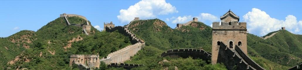 Wall Murals China Die Chinesische Mauer bei Jinshanling
