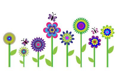 Flores variadas.