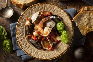 Homemade Italian Seafood Cioppino
