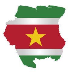 Flag of the Republic of Suriname