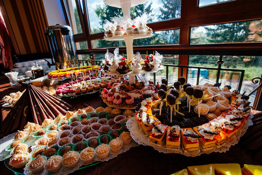assortment of sweets and pastries