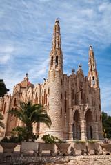 Church at Novoelda, Valencia y Murcia, Andalusia, Spain