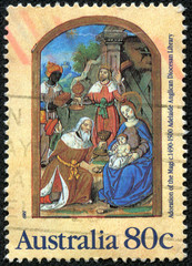 Adoration of the Magi, from Parisian Book of Hours