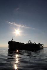 Fuel Tanker silhouette