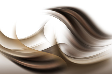 brązowa abstrakcja