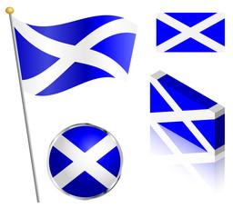 Scottish Flag Set