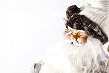 Santa Claus X-Mas white background