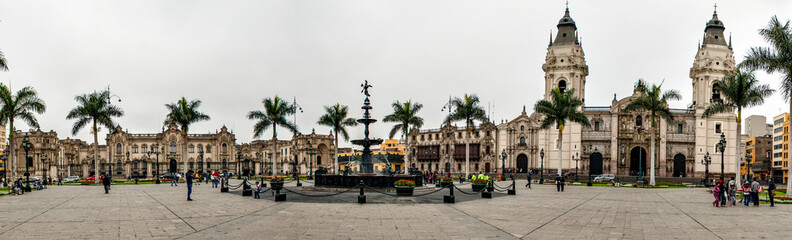 Plaza Mayor, Lima, Perù