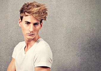 guy with fashionable haircut - guy 08_2