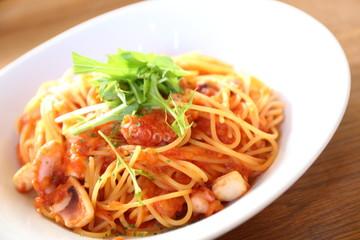 シーフードスパゲティー