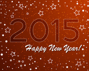 vector of abstract new year graphic and background