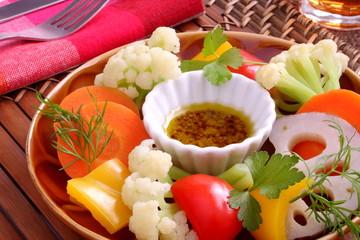 バーニャカウダ 温野菜 サラダ