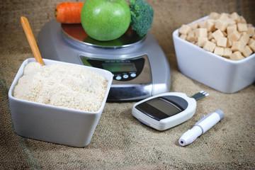 Diabetes, control diabetes and proper nutrition