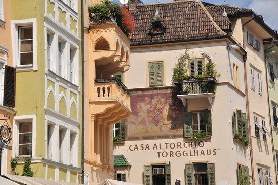 Alststadt von Bozen Südtirol