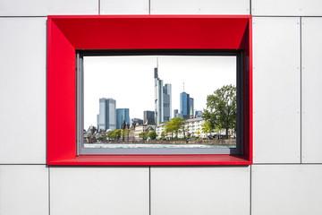 Ausblick Fenster
