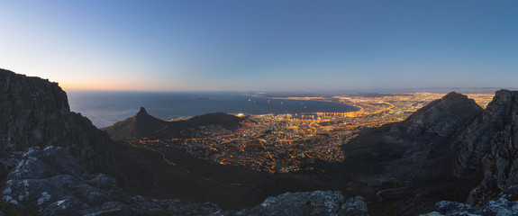 Table Bay from Table Mountain