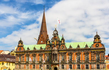 View of Malmo City Hall in Sweden