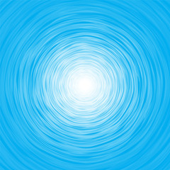 Abstract blue background composition of thin irregular circle