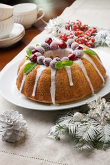 Christmas Cranberry Cake