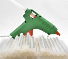 Pistola de slicona térmica