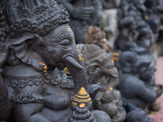 statue of ganesha in bali, indonesia Wall mural