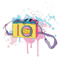 Vector Photo Camera.