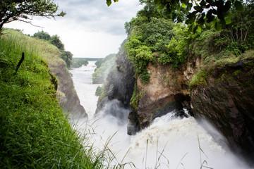 the Murchison Falls in Uganda (Africa) Wall mural