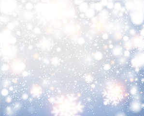 Christmas silver abstract background.