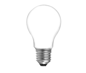 Blank Lightbulb