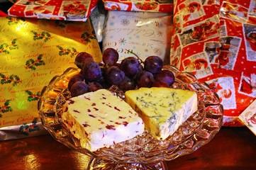 English cheese and Christmas presents © Arena Photo UK