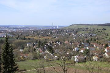 Heilbronn aus Vogelperspektive