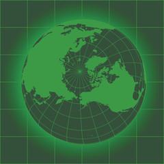Norh Pole green
