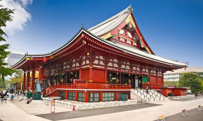 Keuken foto achterwand Tokyo Sensoji-ji Temple in Asakusa, Tokyo, Japan.