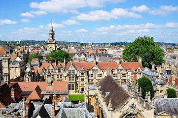 Oxford city rooftops © Arena Photo UK