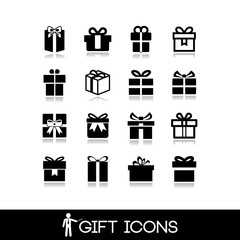 Gift icon set5