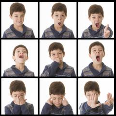 expresive children