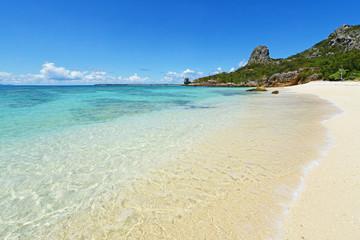 美しいビーチと爽やかな空
