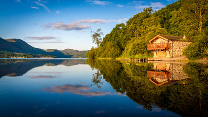 The Old Boathouse at Ullswater, Cumbria, England