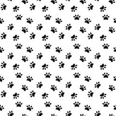 Black paws pattern