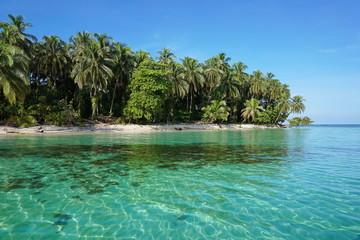 Pristine Caribbean island in Panama