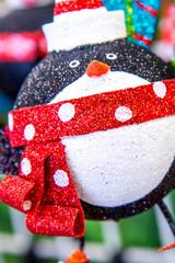 Christmas decorations - penguin ornament